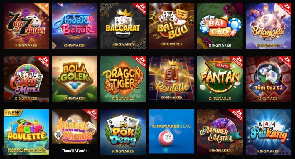 Sòng bạc casino online tại ST666